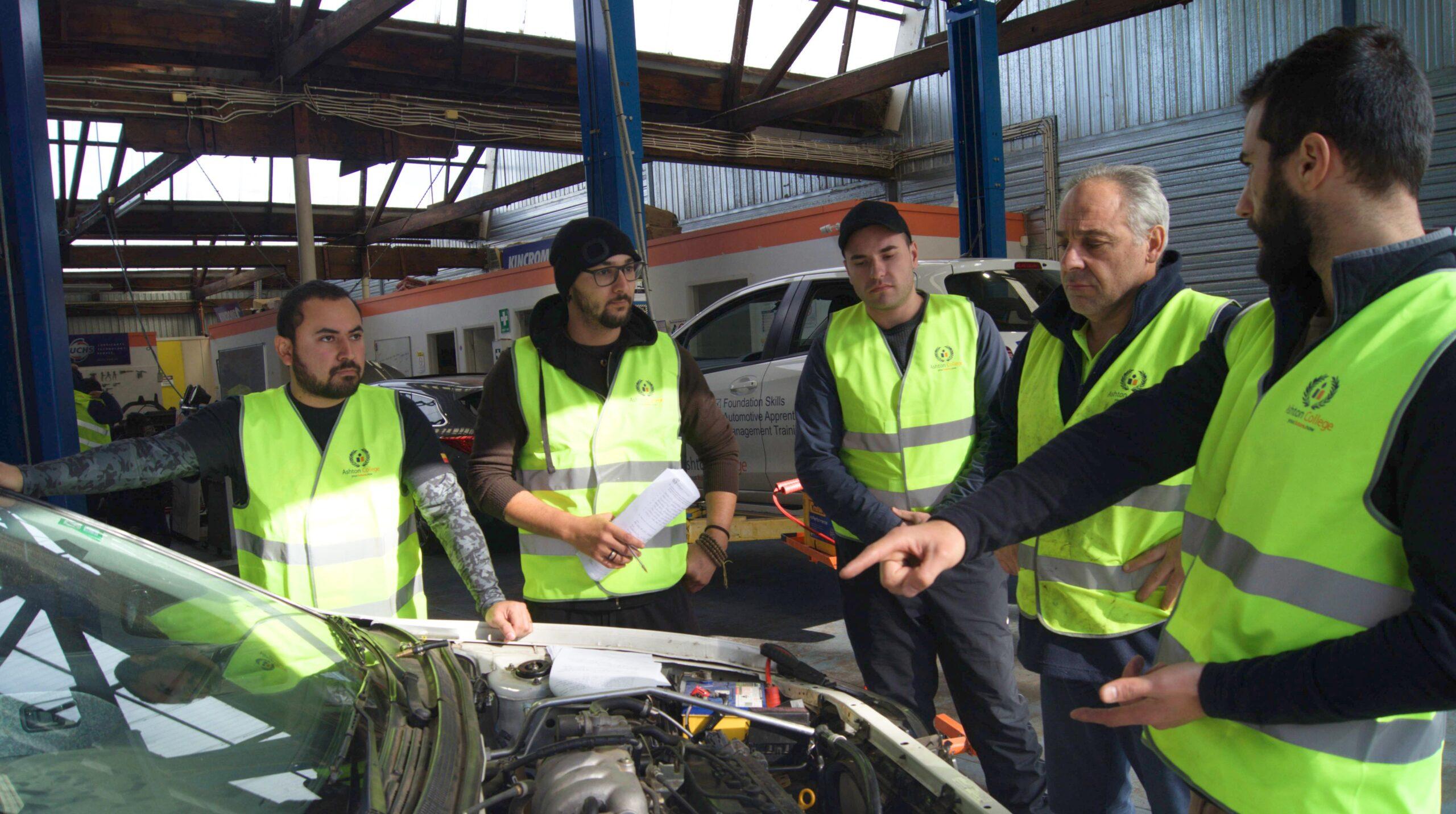 Automotive course in melbourne